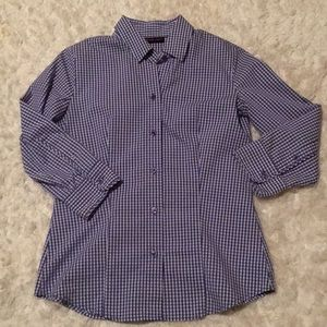NY&C perfect no iron button down